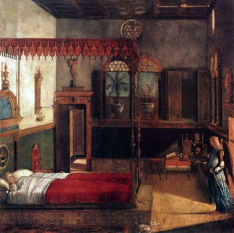 Сон святой Урсулы   Витторио Карпаччо