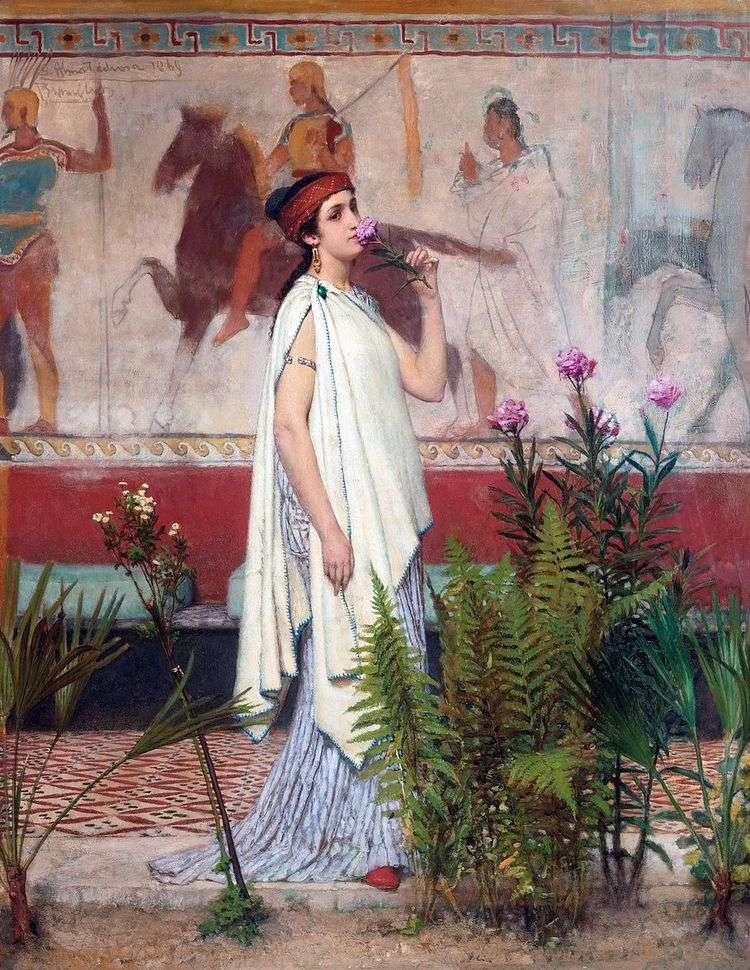 Греческая женщина   Лоуренс Альма Тадема
