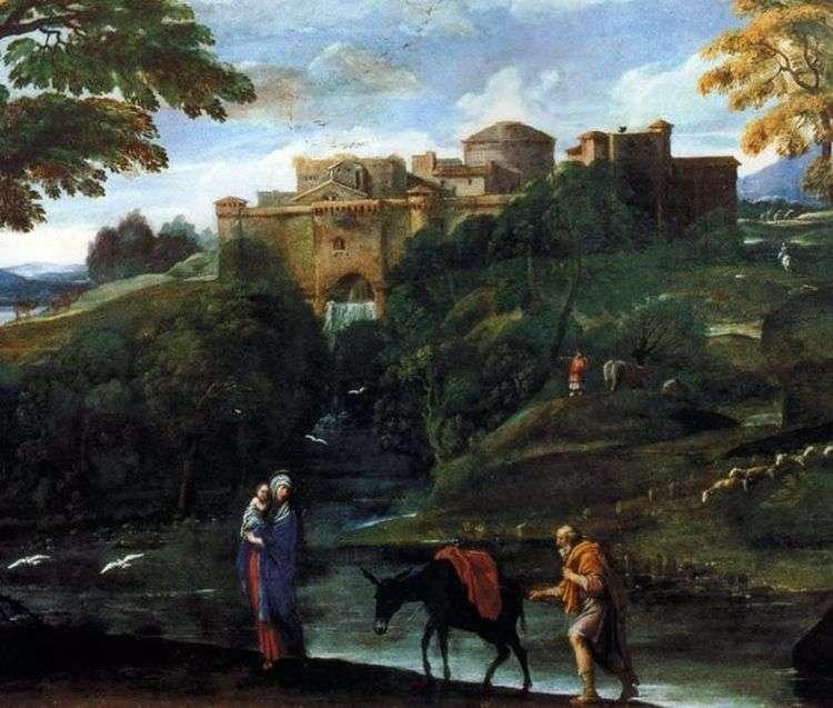 Бегство в Египет   Аннибале Карраччи
