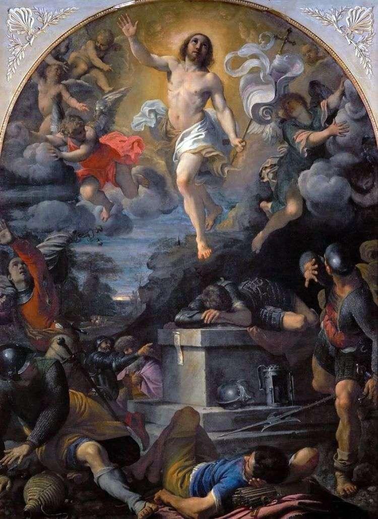 Воскресение Христа   Аннибале Карраччи