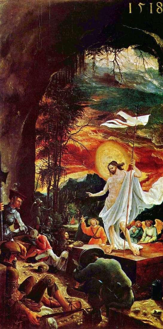 Воскресение Христа   Альбрехт Альтдорфер