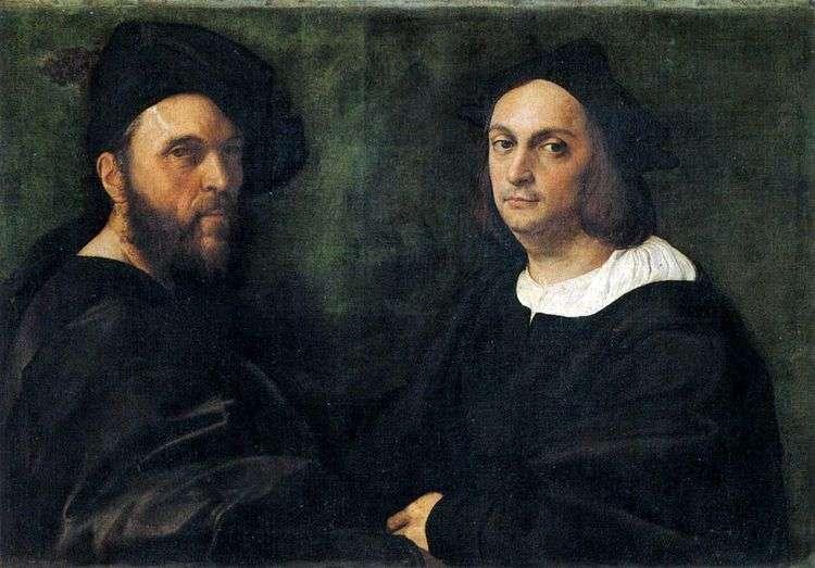 Двойной портрет   Рафаэль Санти