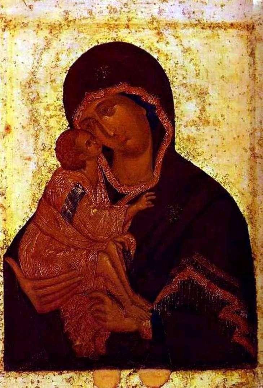 Донская икона Божией Матери   Феофан Грек