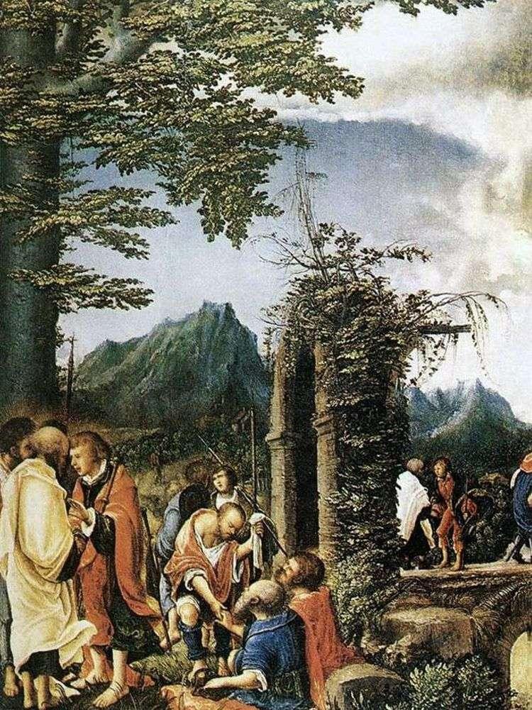 Причастие апостолов   Альбрехт Альтдорфер