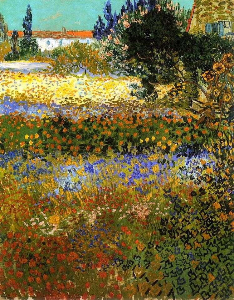 Цветущий сад   Винсент Ван Гог