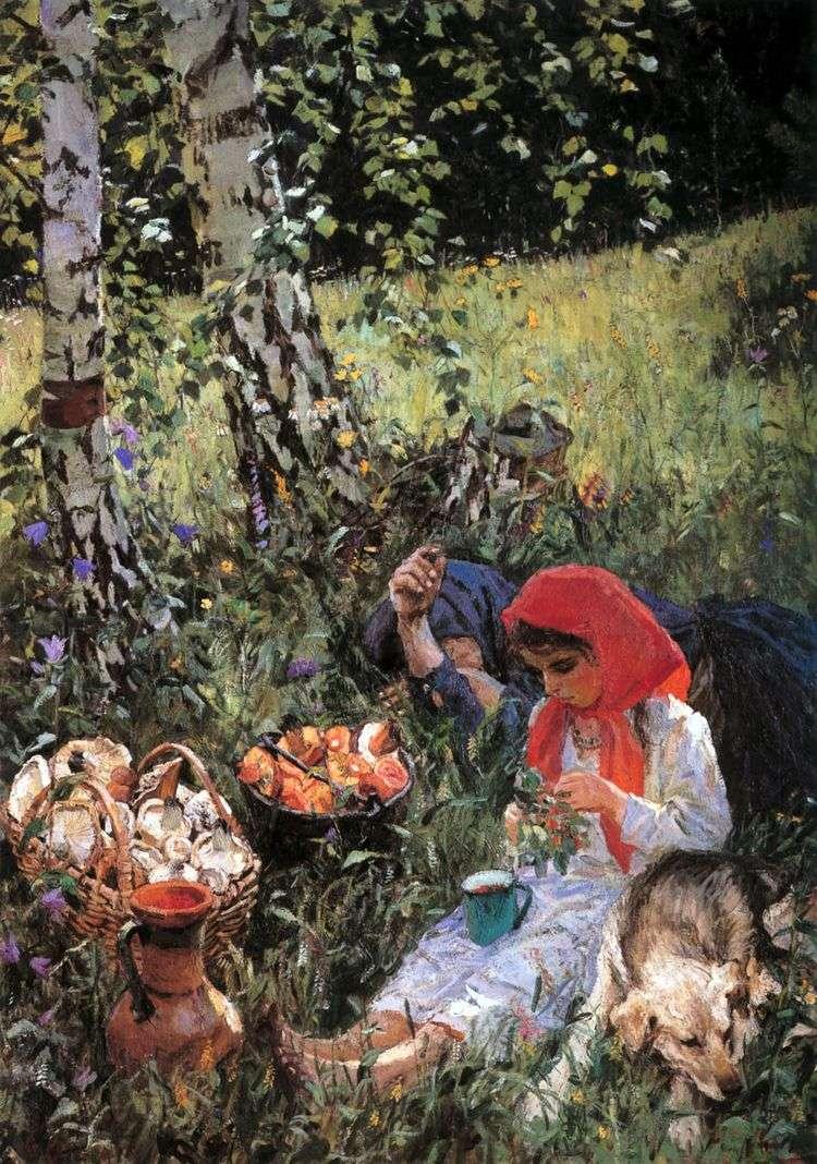Летом   Аркадий Пластов