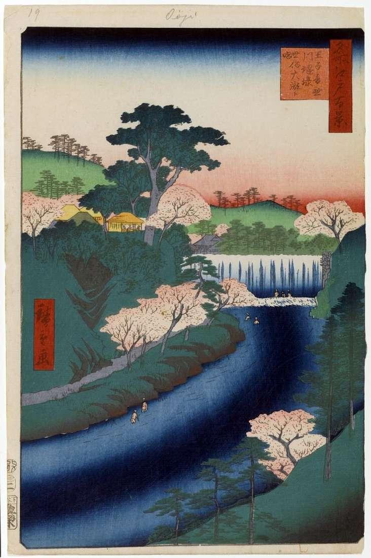 Дамба на реке Отонасигава в Одзи
