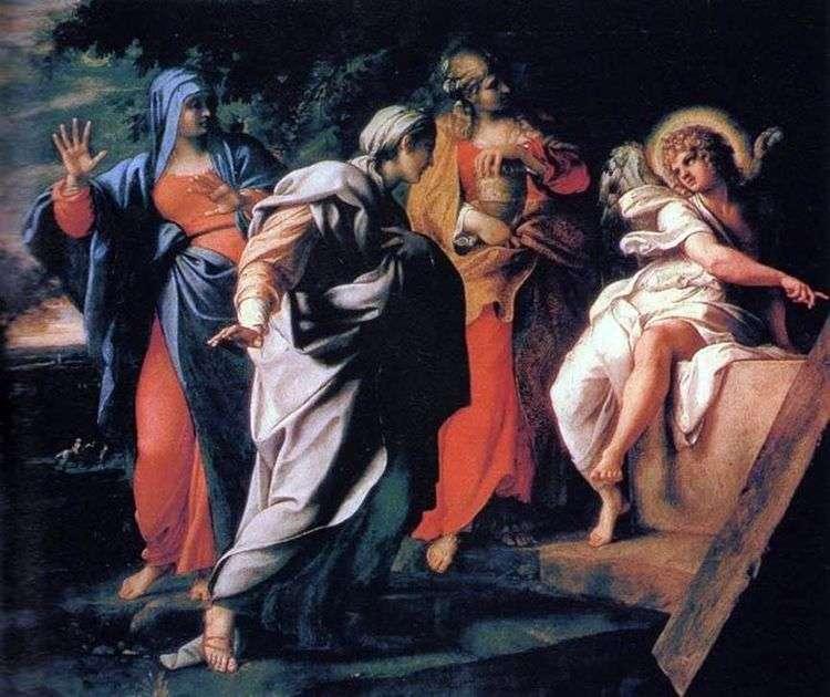 Три Марии у гроба Господня   Аннибале Карраччи