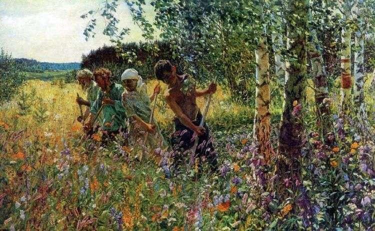 Сенокос   Аркадий Пластов