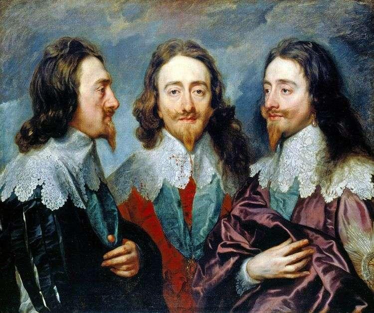 Карл I в трех ракурсах   Энтони Ван Дейк