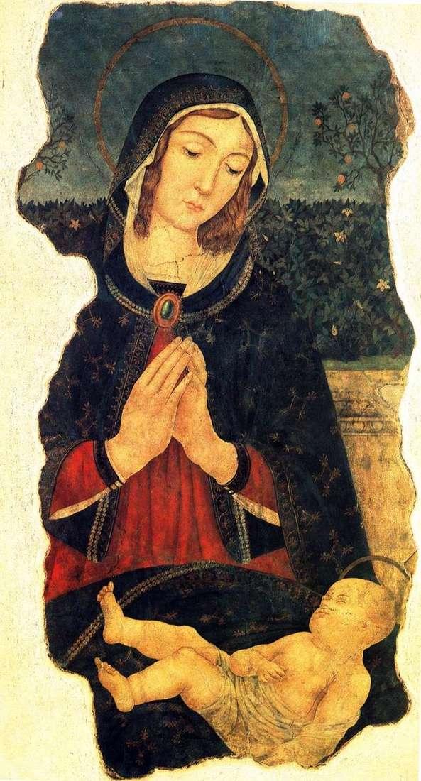 Мария со спящим младенцем   Пьерматтео да Амелиа