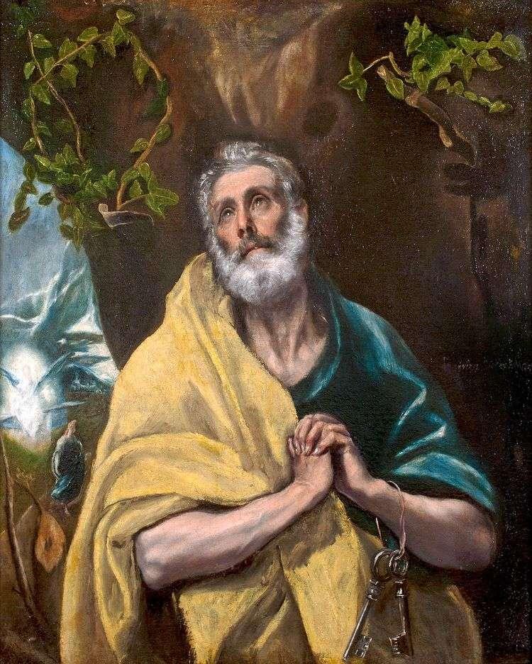Апостол Петр   Эль Греко