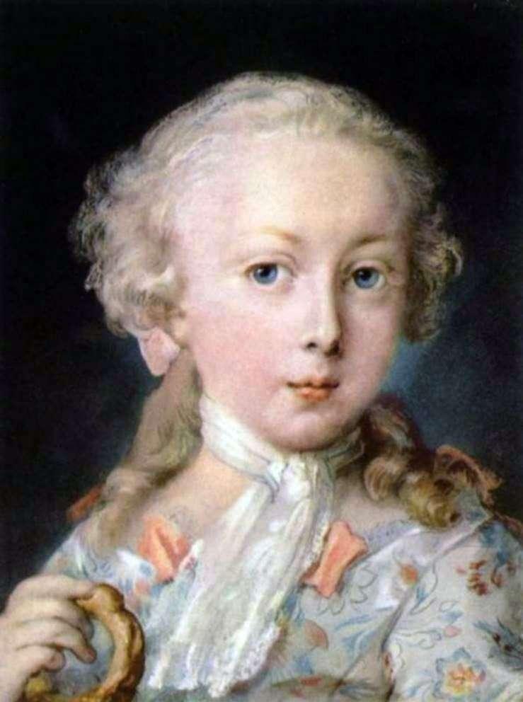 Портрет ребенка из семьи Ле Блон   Розальба Каррьера