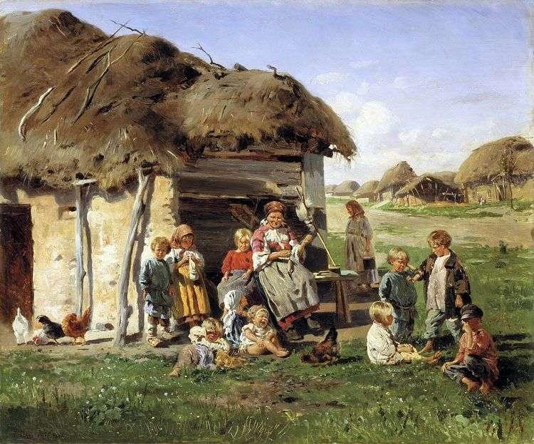 Крестьянские дети   Владимир Маковский