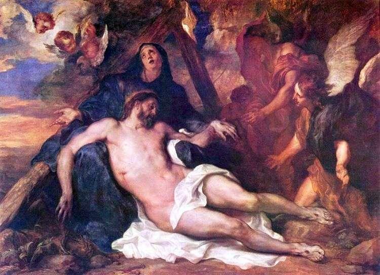 Оплакивание Христа   Энтони Ван Дейк