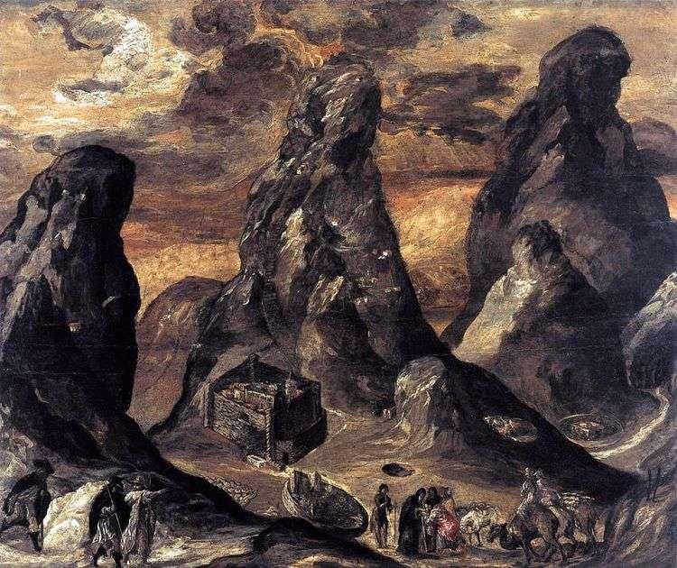 Гора Синай   Эль Греко