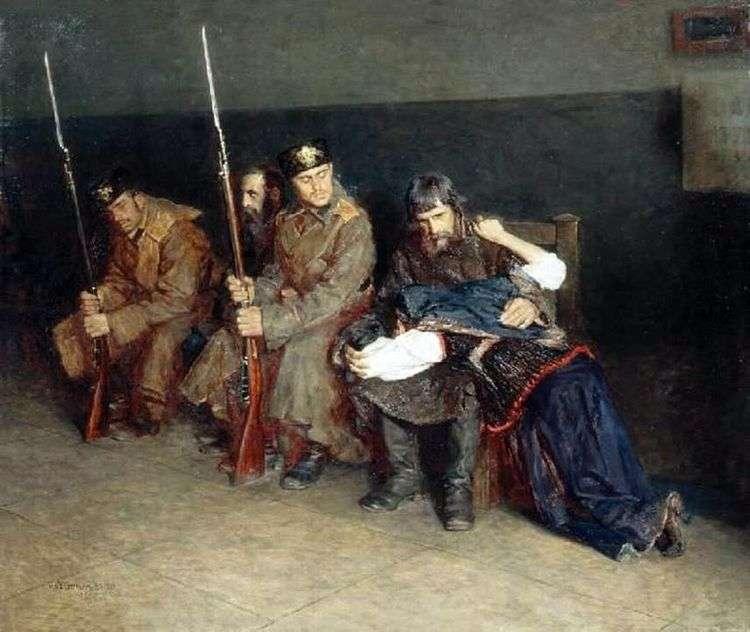 В коридоре окружного суда   Николай Касаткин