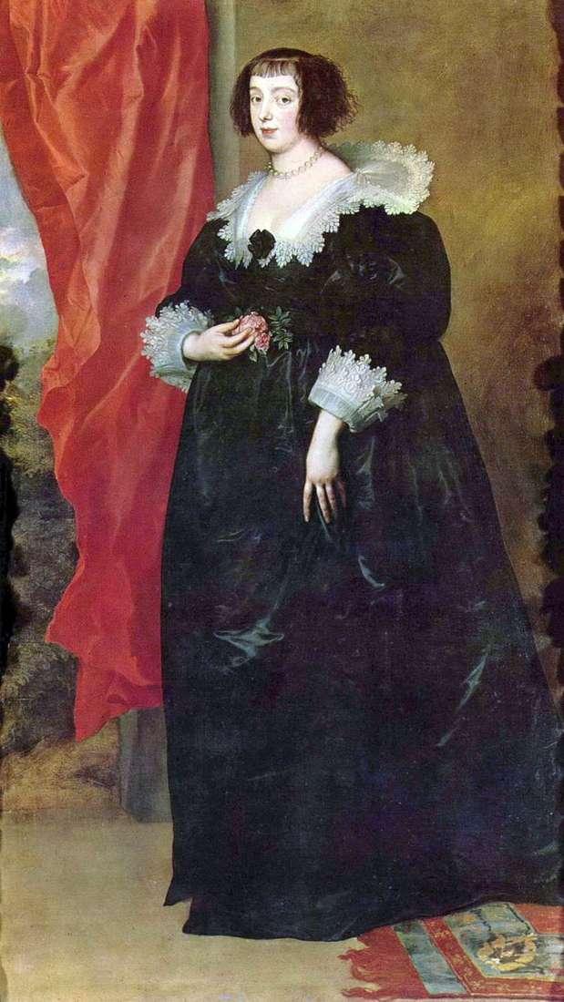 Портрет Маргариты Лотарингской   герцогини Орлеанской   Энтони Ван Дейк