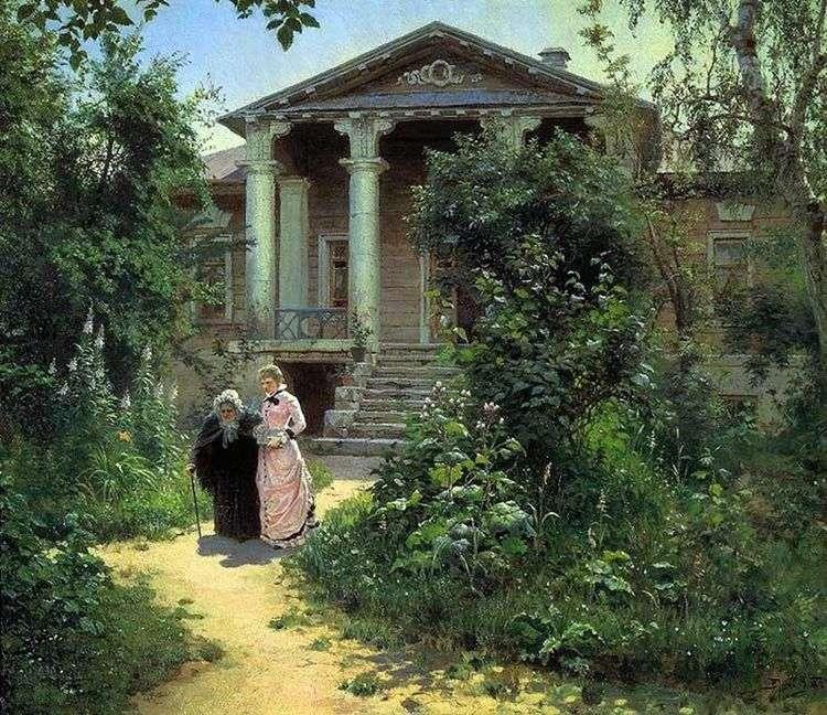 Бабушкин сад   Василий Поленов