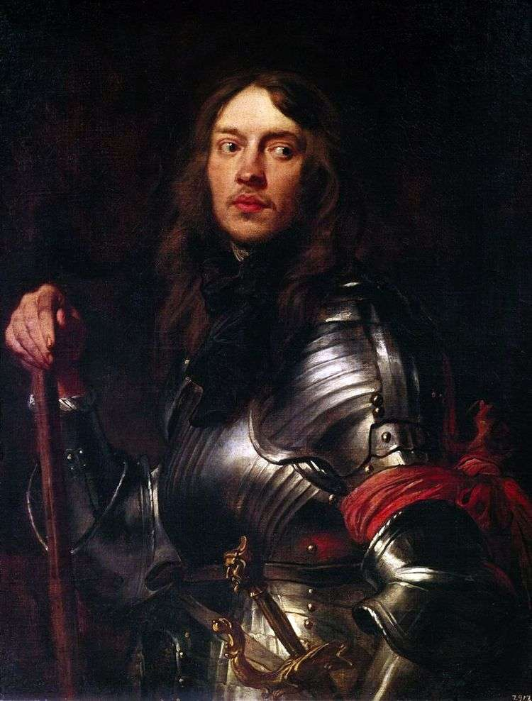Портрет рыцаря с красной повязкой   Энтони Ван Дейк