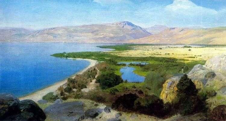 Генисаретское озеро   Василий Поленов
