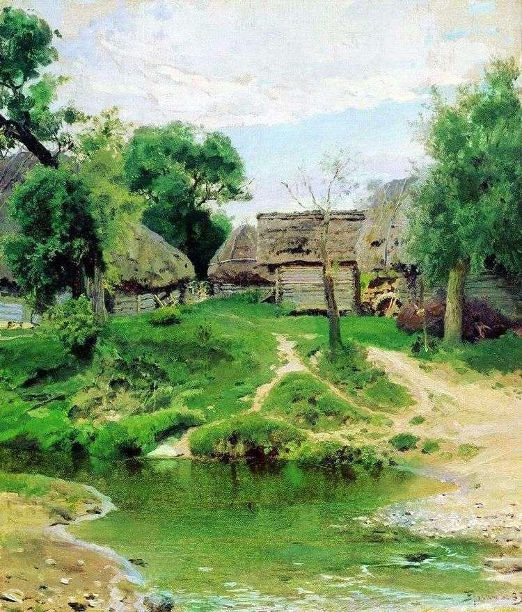 Деревня Тургенево   Василий Поленов