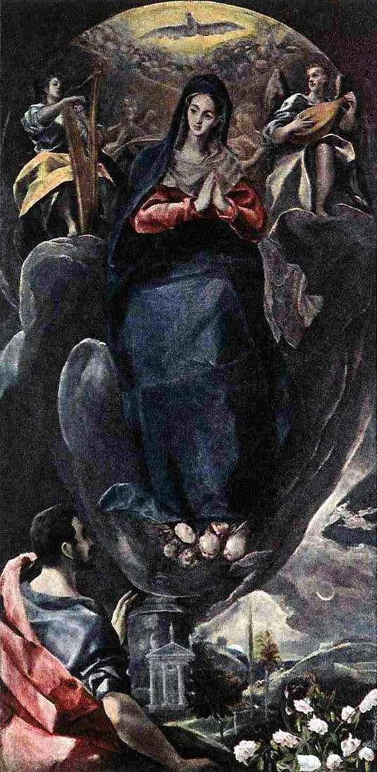 Непорочное зачатие   Эль Греко