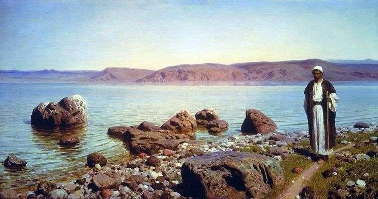 На Тивериадском (Генисаретском) озере   Василий Поленов