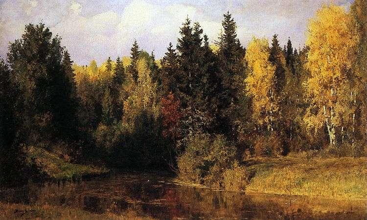 Осень в Абрамцеве   Василий Поленов
