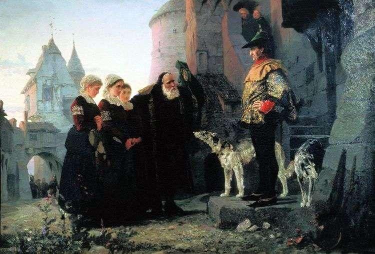 Право господина   Василий Поленов