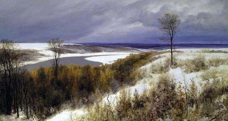 Ранний снег   Василий Поленов
