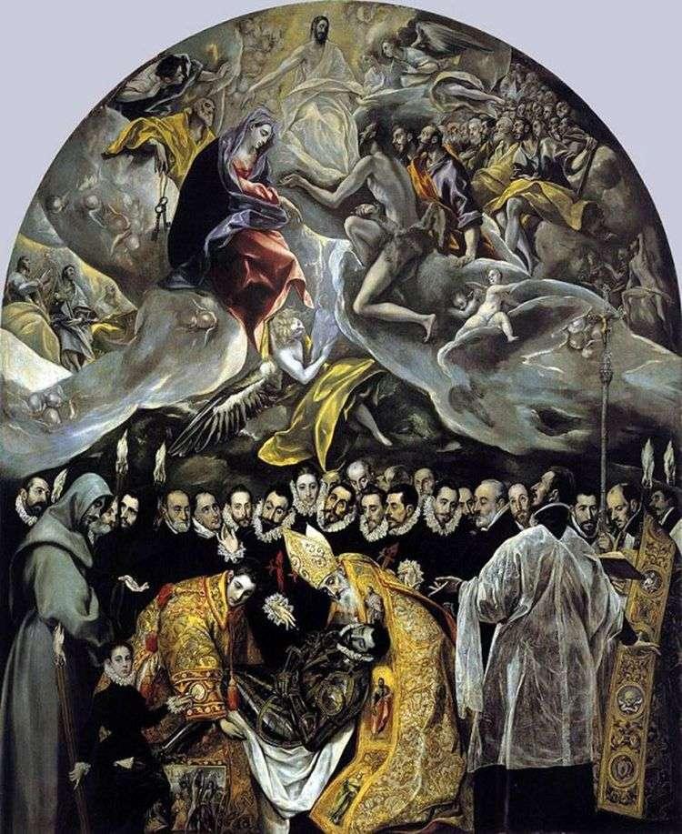 Погребение графа Оргаса   Эль Греко