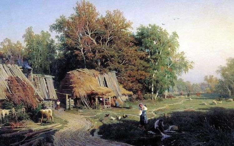 Деревня   Федор Васильев