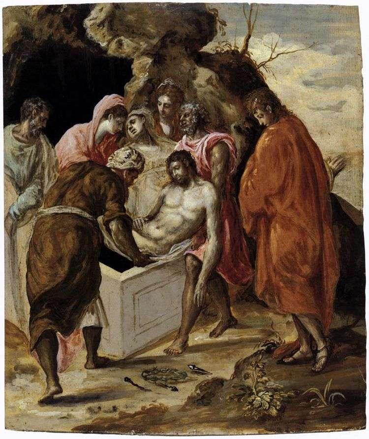 Положение Христа в гроб   Эль Греко