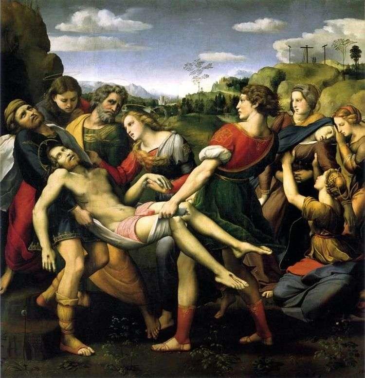 Положение во гроб   Рафаэль Санти