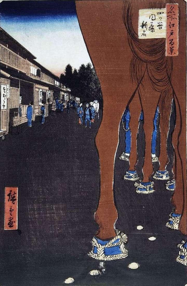 Найто Синдзюку в Ецуя   Утагава Хиросигэ