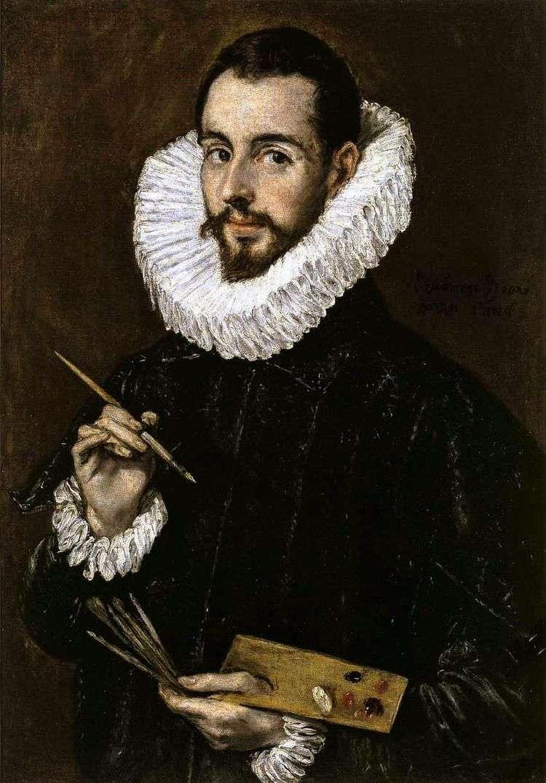Портрет живописца   Эль Греко