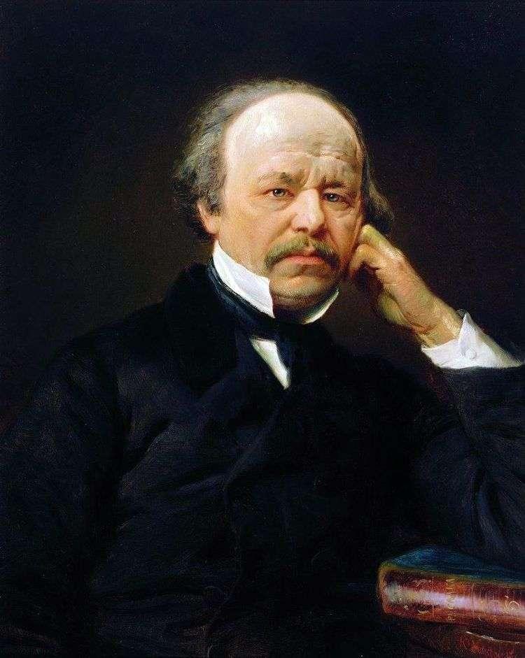 Портрет А. С. Даргомыжского   Константин Маковский