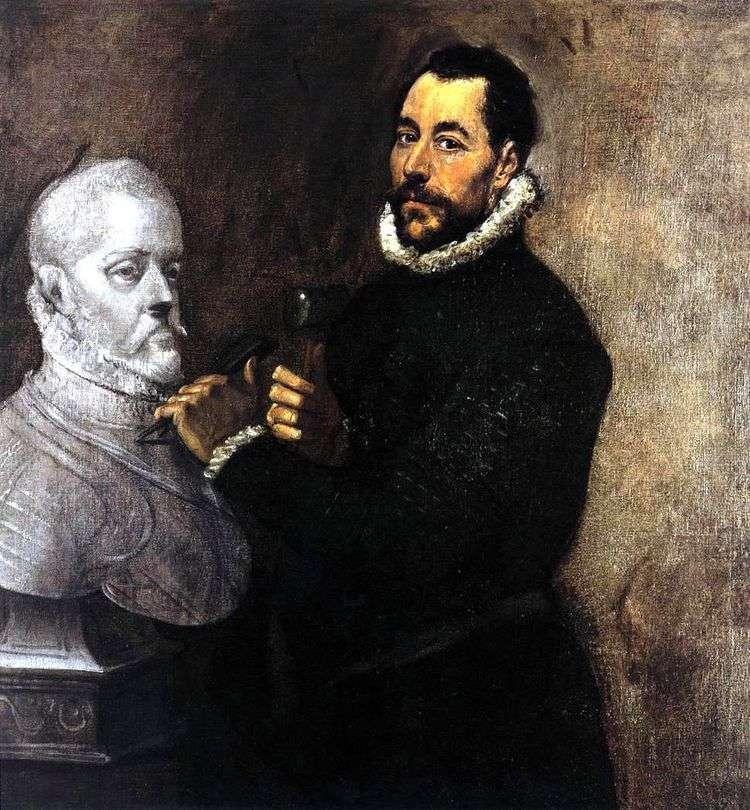 Портрет скульптора   Эль Греко