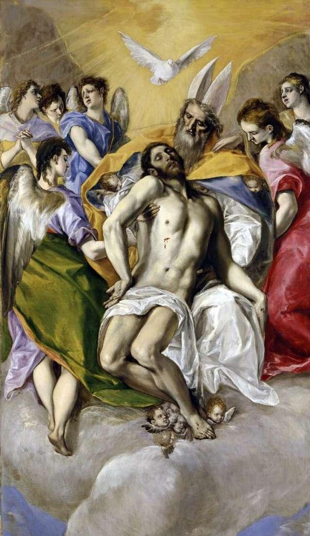 Святая Троица   Эль Греко