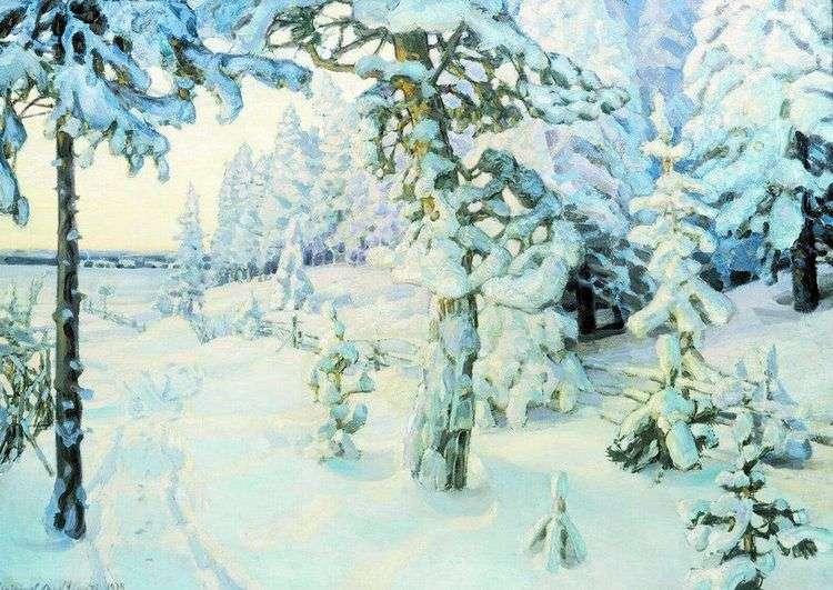 Зимний сон   Аполлинарий Васнецов