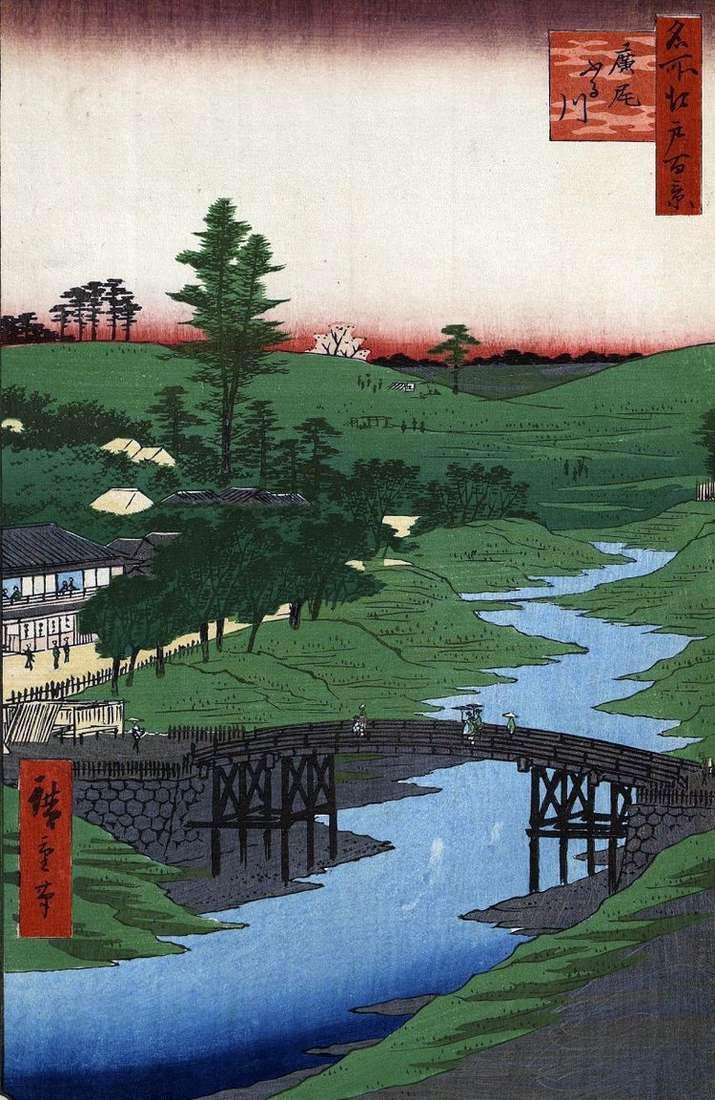 Река Фурукава в местности Хироо