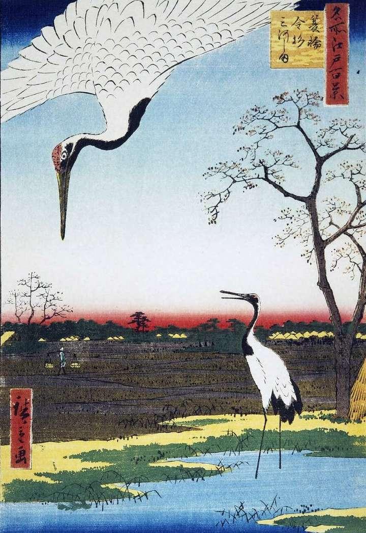 Селения Микавасима, Канасуги и Минова