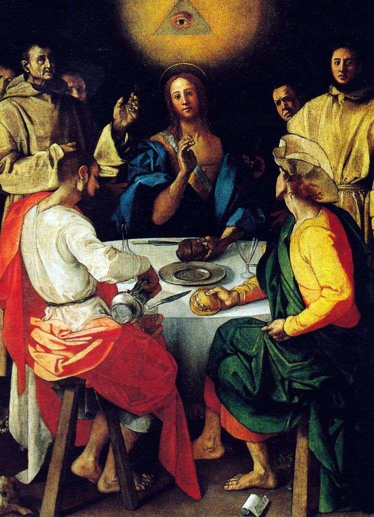 Ужин в Эммаусе   Понтормо
