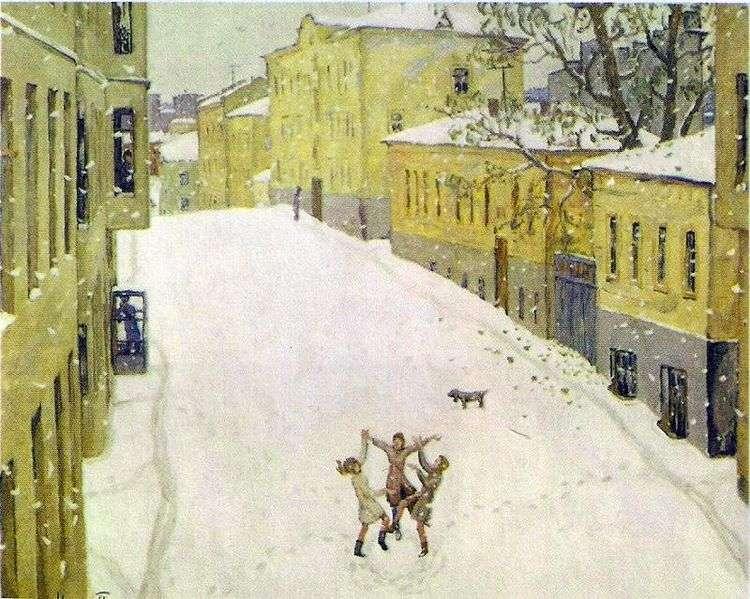 Первый снег   Игорь Попов