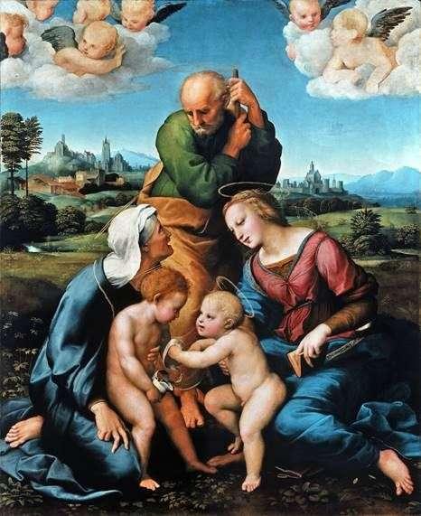 Святое семейство Каниджани   Рафаэль Санти