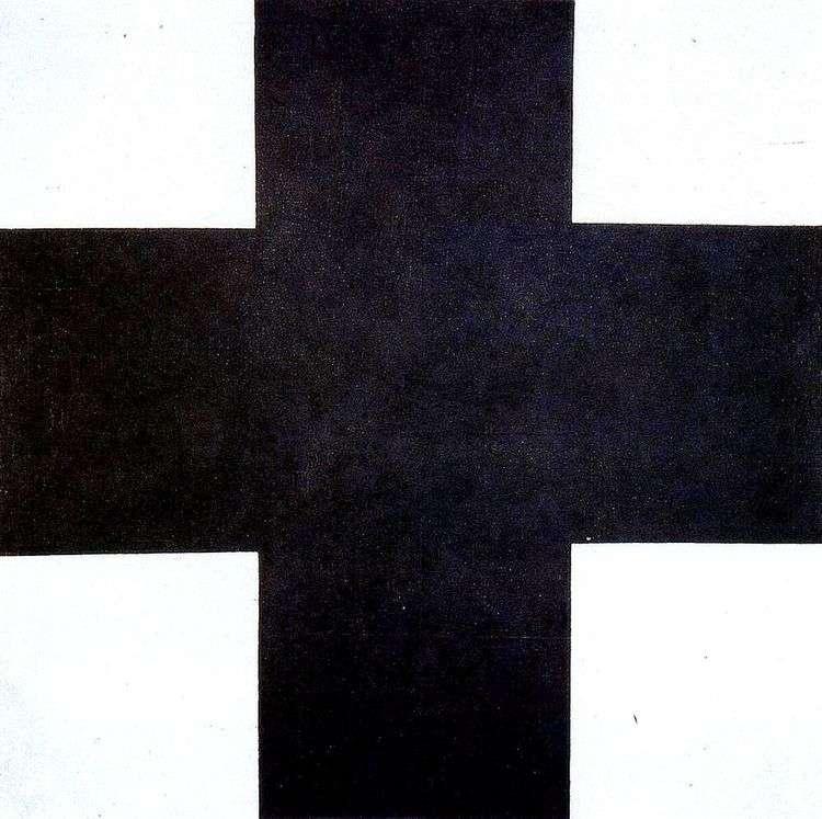 Черный крест   Казимир Малевич