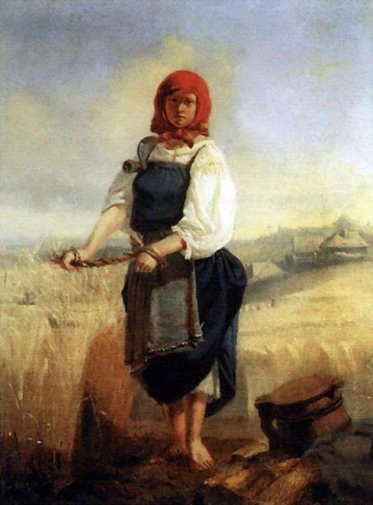 Жница   Виктор Васнецов