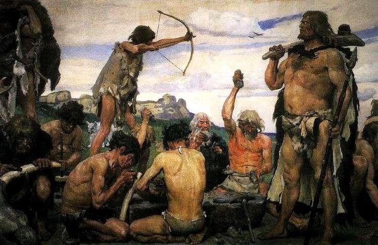 Каменный век   Виктор Васнецов