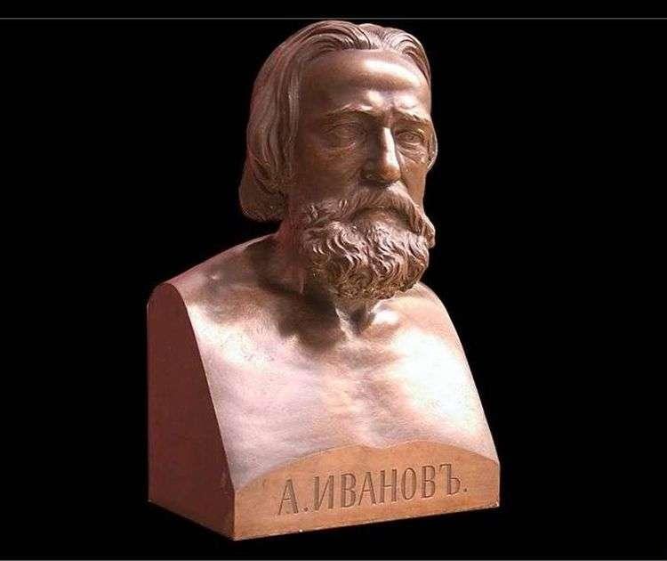 Бюст А. А. Иванова   Луиджи Гульельми